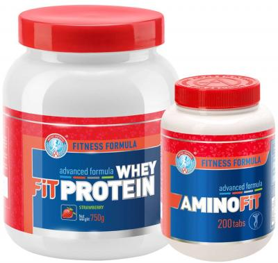 "Набор ""FIT WHEY PROTEIN 750 + Amino Fit"""