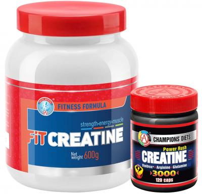"Набор ""FIT CREATINE + CREATINE Power Rush 3000"""